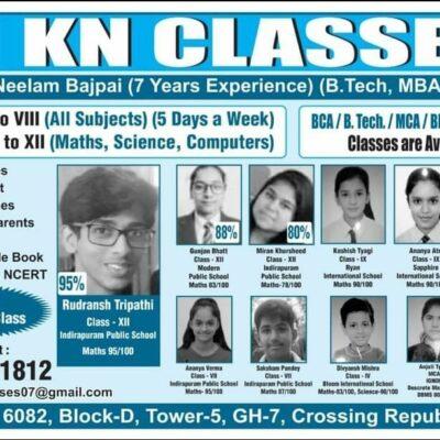 KN Classes @Block D Tower 5 GH-7 Crossing Republic GZB